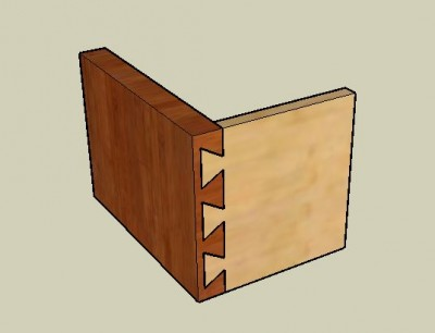dovetail joint 400x306 Joinery Techniques
