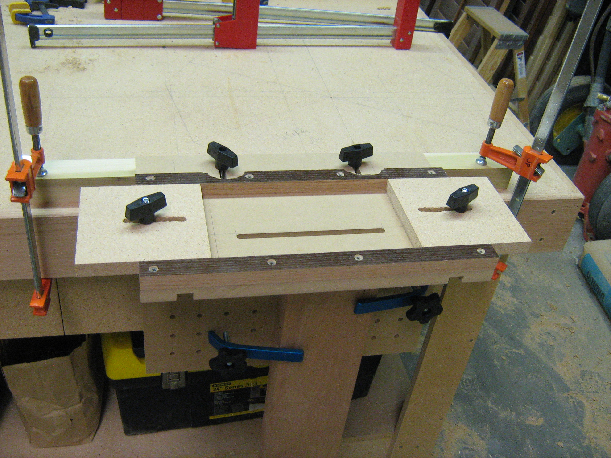 Jim Topic Fine Woodworking Mortising Jig