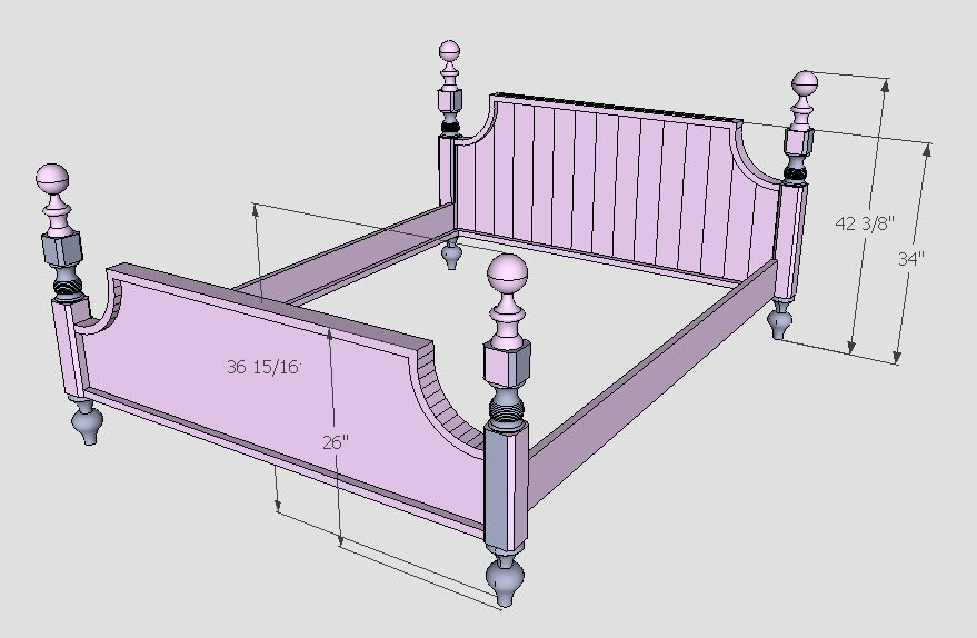 We needed to design. Using Google s SketchUp with Woodworking   Custom Furniture and