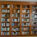 Built-In Bookcase - Alder