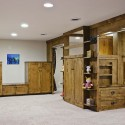 Bedroom Unit - Stained Alder