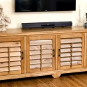 Buffet with Shutter Doors - Glazed Alder
