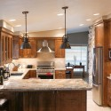 Kitchen Cabinets - Stained Alder