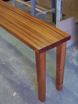 Custom Console Table | Custom Furniture and Cabinetry in