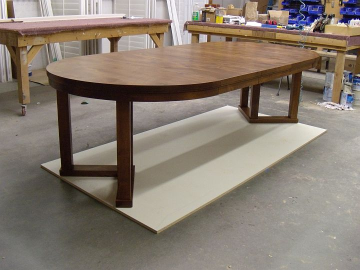Alder Extension Table Custom Furniture And Cabinetry In