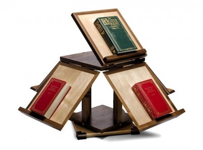Revolving Book Stand