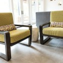Easy Chairs - Stained Alder