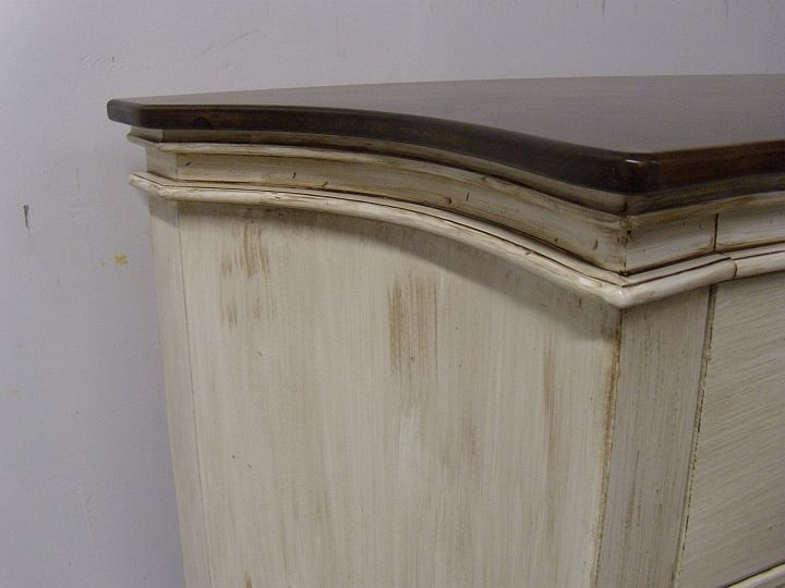 Staining Over Painted Furniture Designs